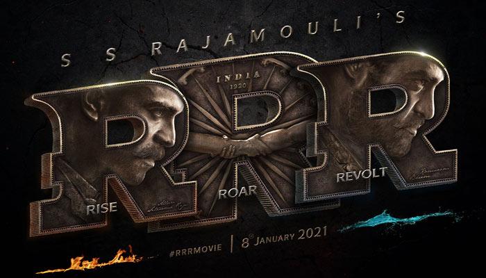 RRR First Look Motion Poster Rise Roar Revolt