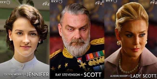 RRR: Olivia Jennifer, Ray Stevenson, Alison Doody