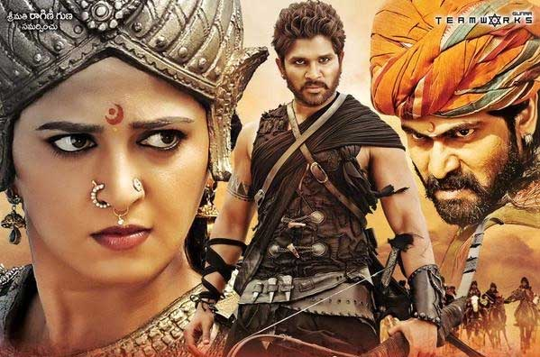 'Rudhramadevi' 5 Days AP and TS Collections
