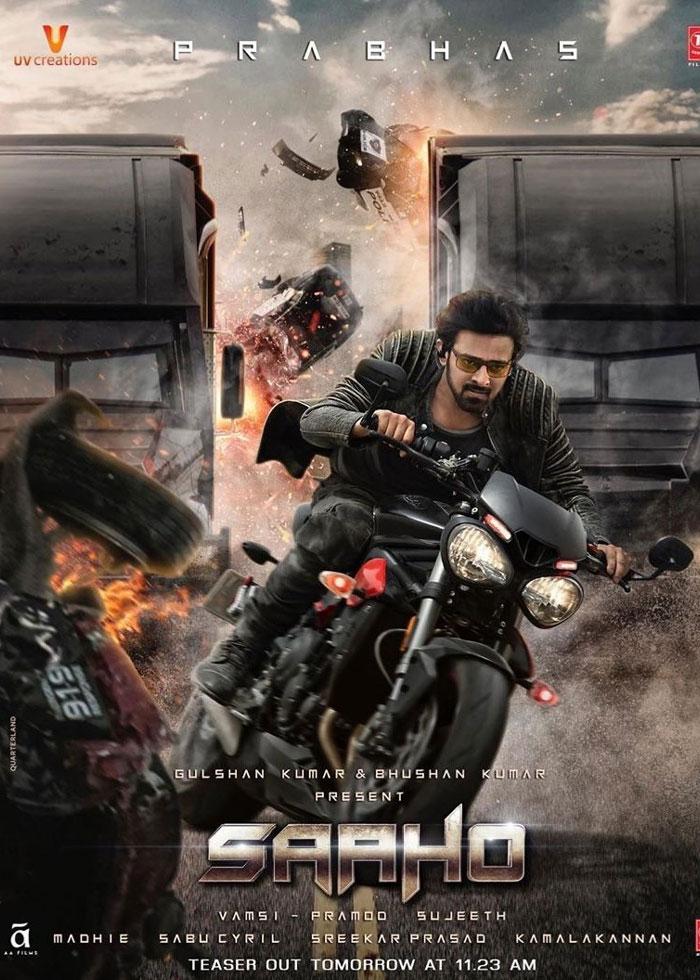 Saaho First Song Soon