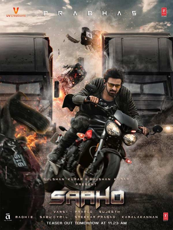 Saaho Postponed