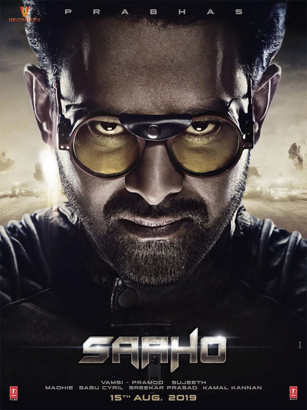 Saaho Release Poster