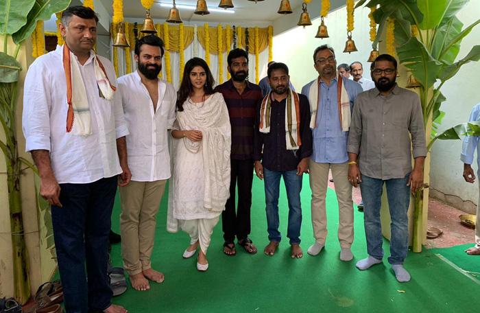 Sai Dharam Tej, Kishore Tirumala Film Launched
