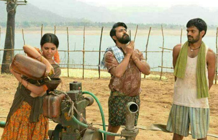Samantha As Lachchimi in Rangasthalam!