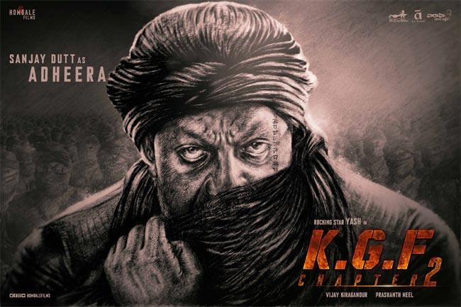 Sanjay Dutt As Adheera In KGF 2