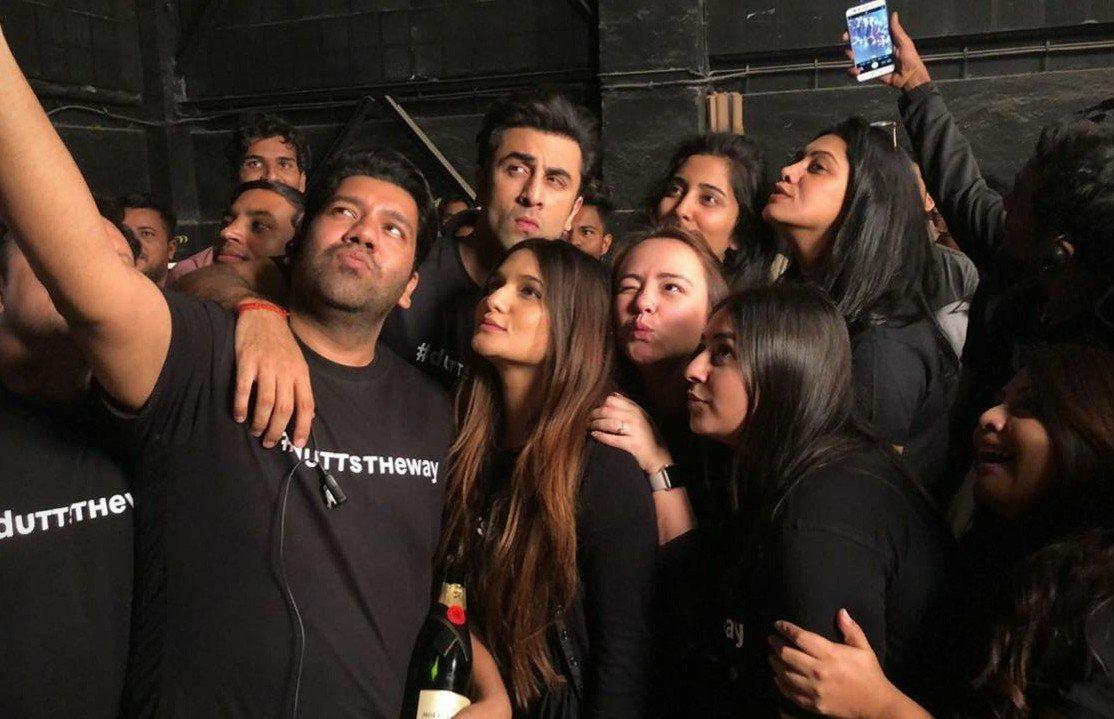 Sanjay Dutt Biopic Completes Shoot