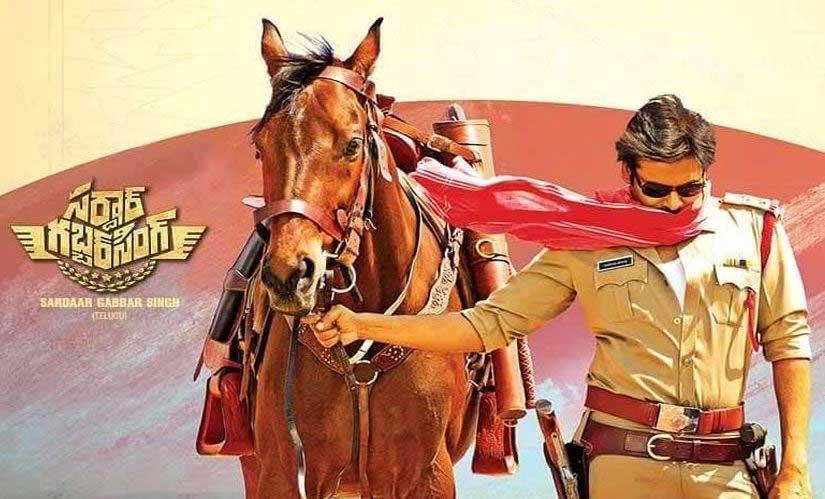 Sardaar Gabbar Singh Gets 2nd Place with US Premieres