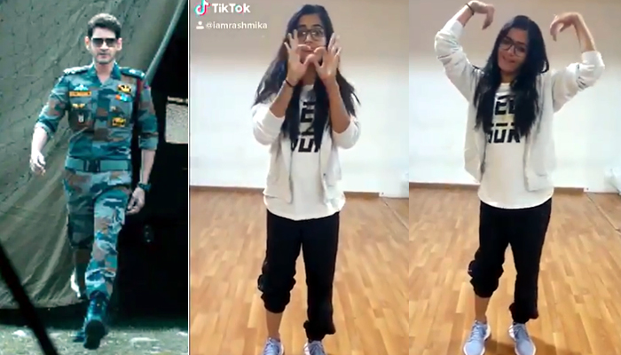 Sarileru Neekavvaru: Rashmika's TikTok Video Gets Mixed Response