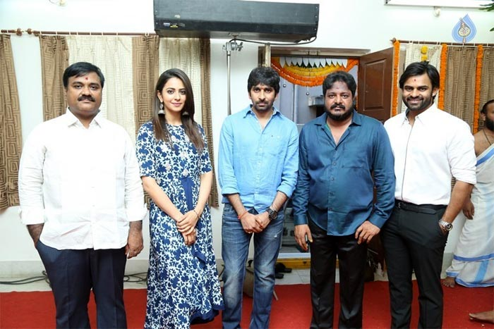 SDT-Rakul New Movie Launched in Gopichand Malineni Direction