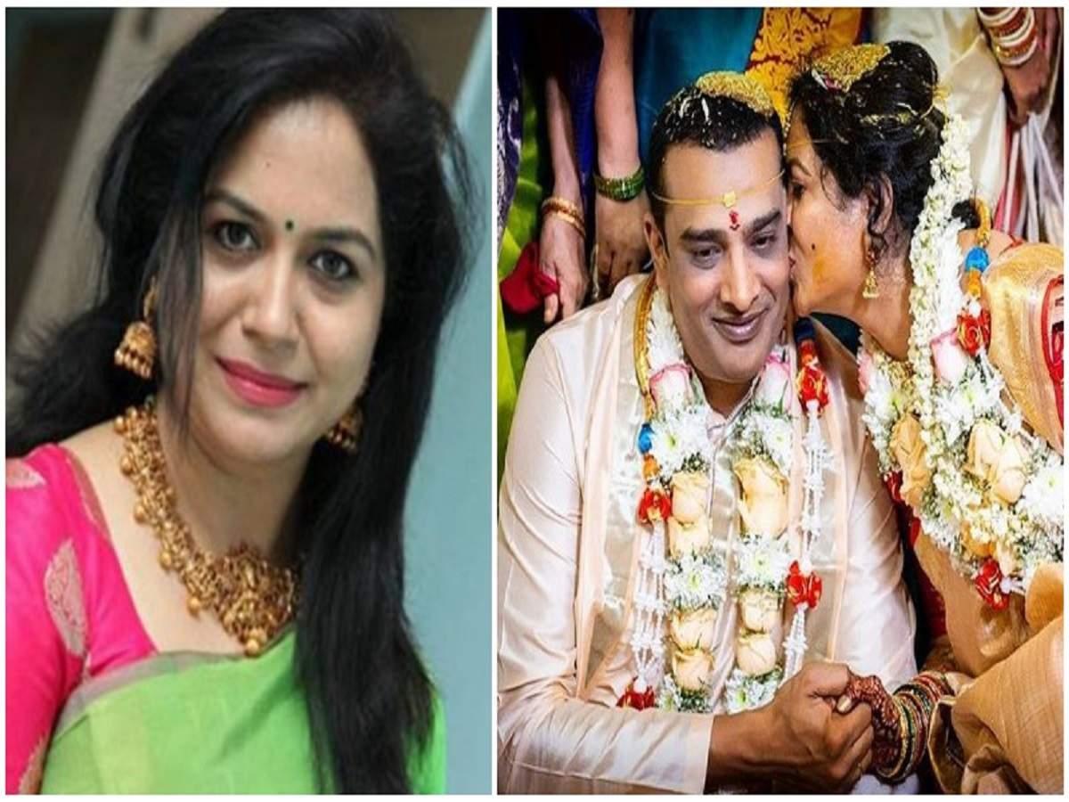 Sunitha with Ram