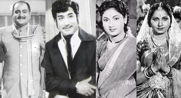 SVR, Sivaji Ganesan, Savitri, Kannamba