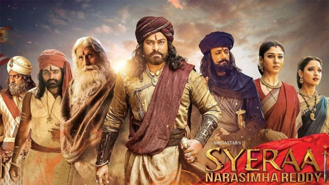 Sye Raa 13 Days AP, TS Box Office Collections Shares