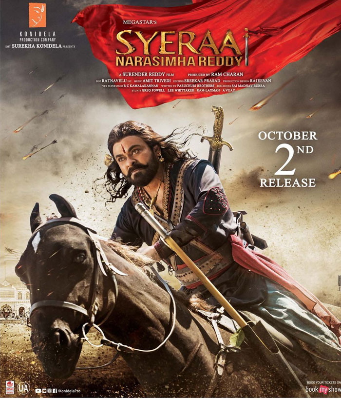 Sye Raa Narasimha Reddy (2019) Tamil Movie 480p HDRip x264 ESubs 400MB