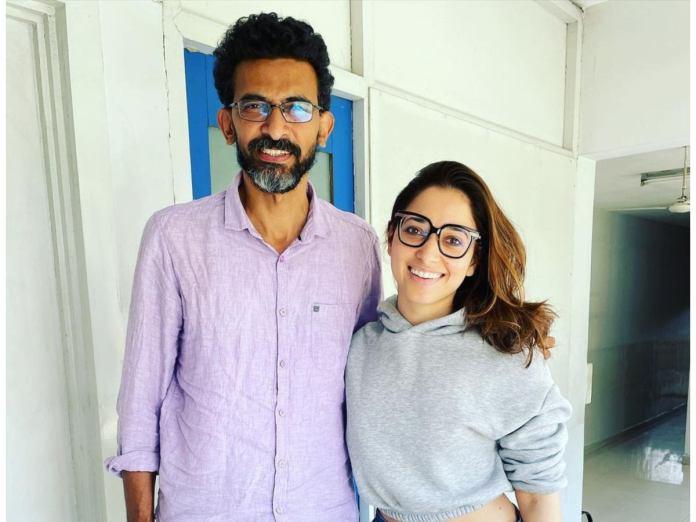 Tamannaah  With Sekhar Kammula