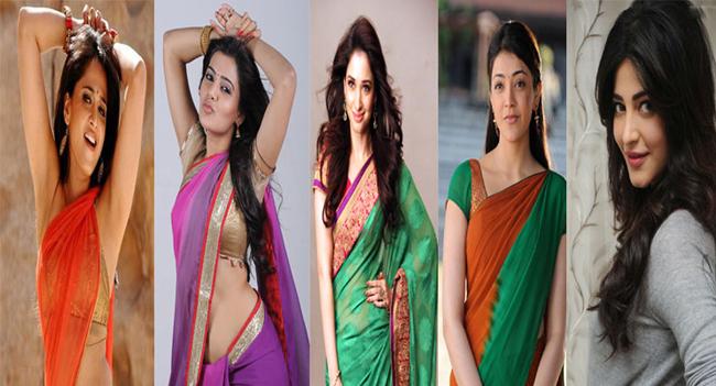 Telugu Heroines becoming crowd pullers