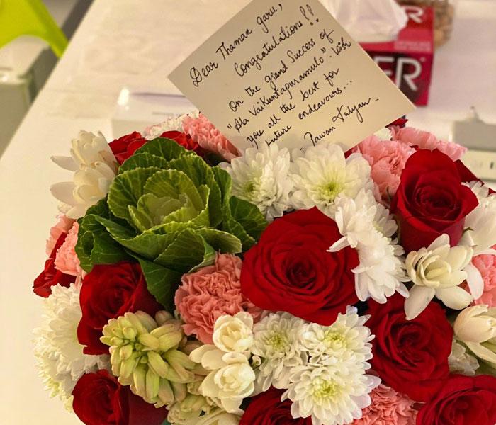 Thaman Receives Pawan Kalyan's Wishes