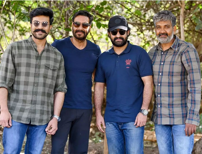 Three Songs of RRR Not to Be Shot?