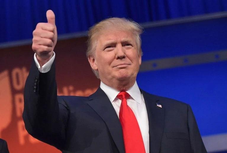 Trump Shares Baahubali Meme