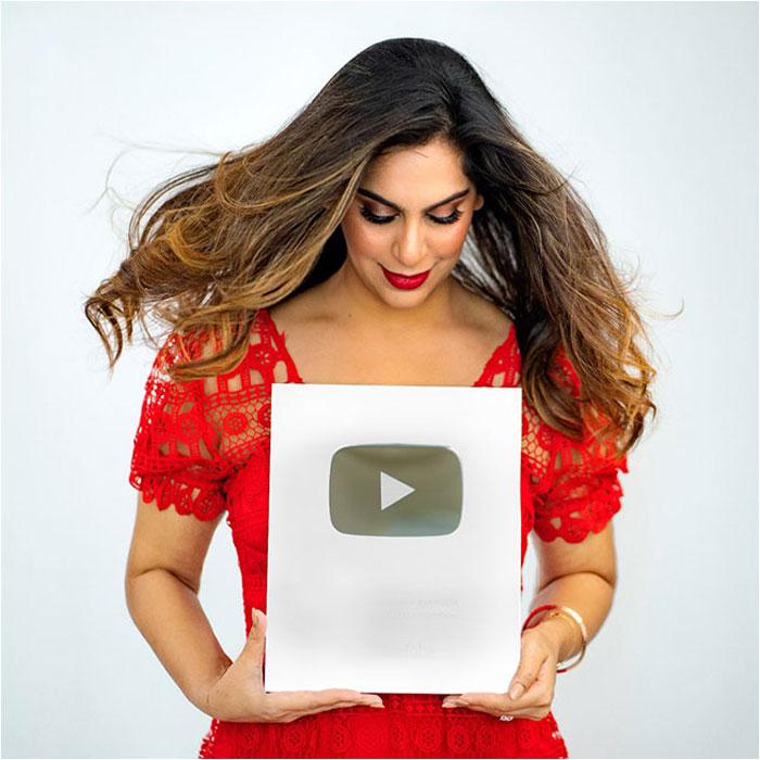 Upasana's Rare Feat on Youtube