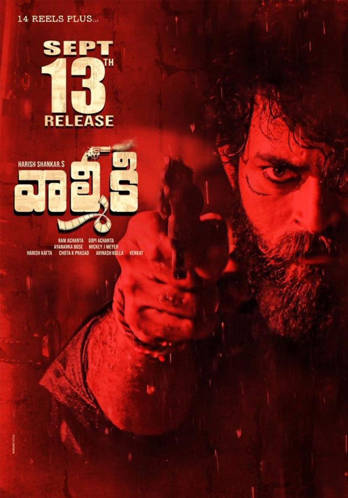 Valmiki's Release Date Confirmed