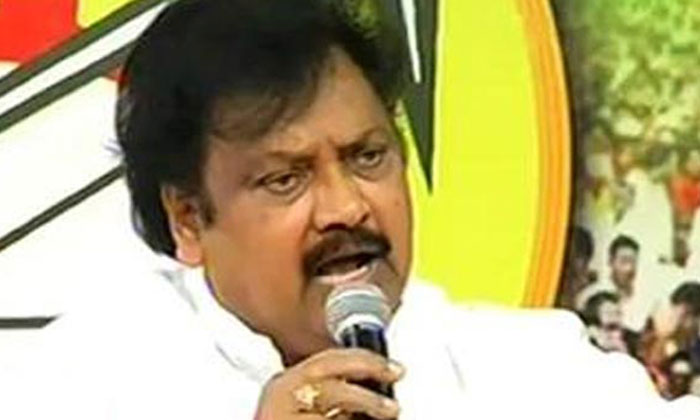 Varla Ramaiah Disappointed with Chandrababu