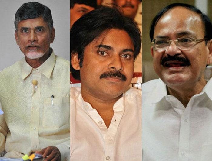 Venkaiah,Pawan, CBN, Ramoji Should Fight for It