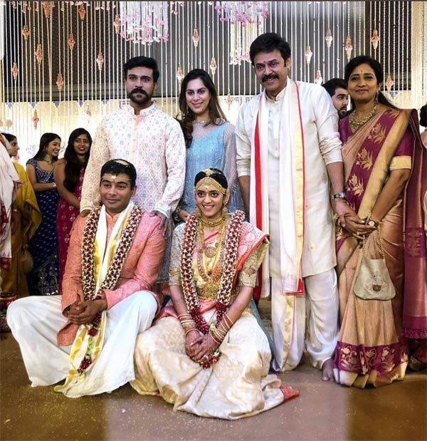 Venkatesh Daughter Wedding