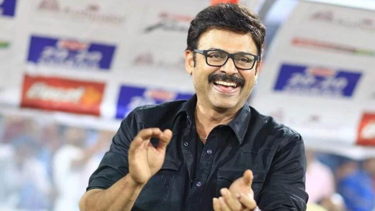 Venkatesh's Next with Different Backdrop