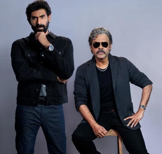 Venkatesh, Rana's Rana Naidu regular shoot kickstarts