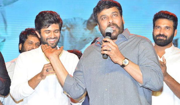 Vijay Deverakonda  in Chiranjeevi's Lucifer?