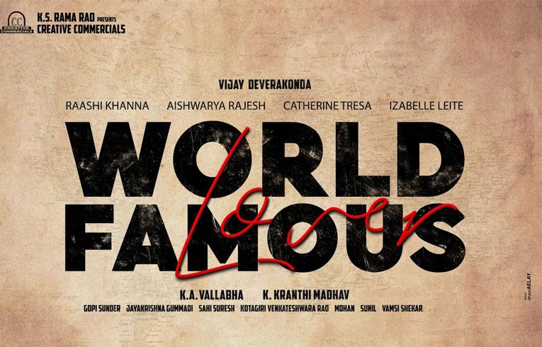 Vijay Deverakonda to Become a Writer