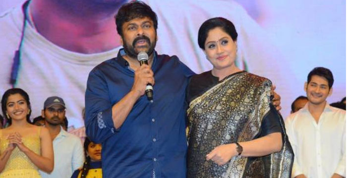 Vijayashanthi to Play Chiranjeevi's Sister?