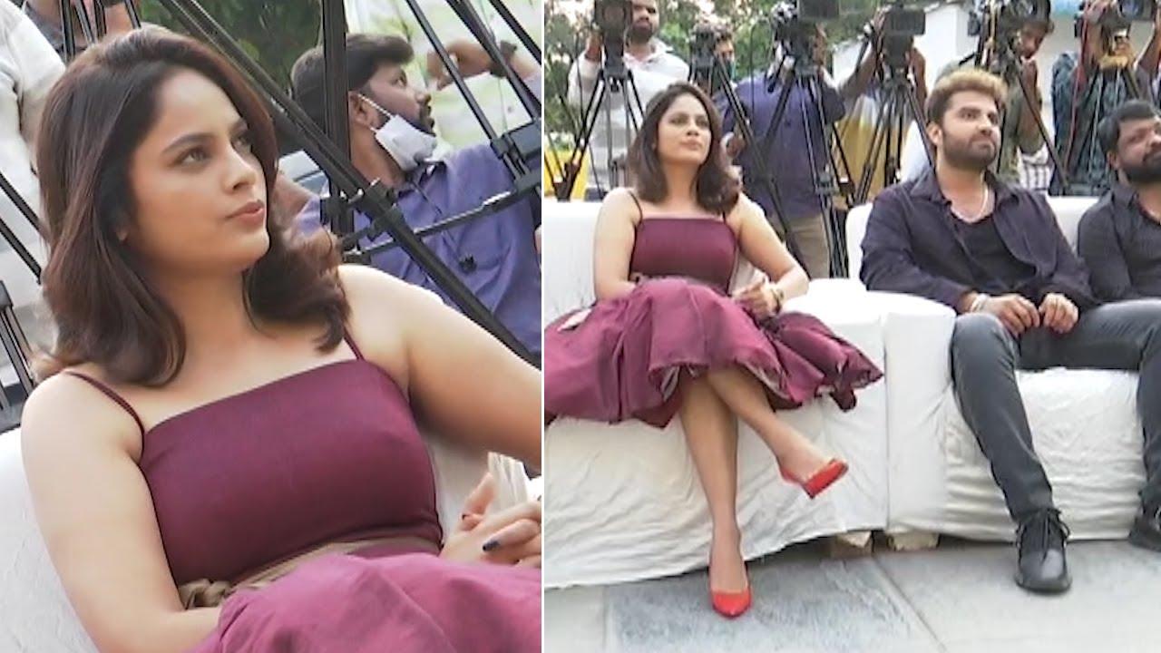 Vishwak at Akshara song launch