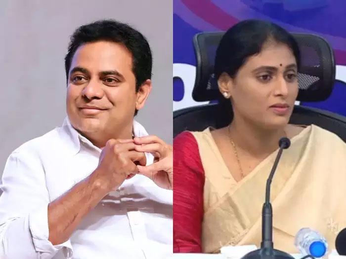 Who Is KTR? Sharmila Outsmarts Nara Lokesh!