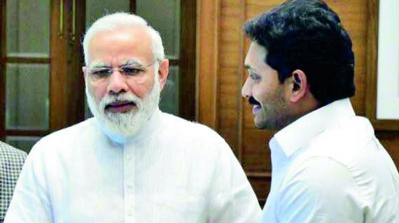 YS Jagan Mohan Reddy's Utmost Respect on Modi