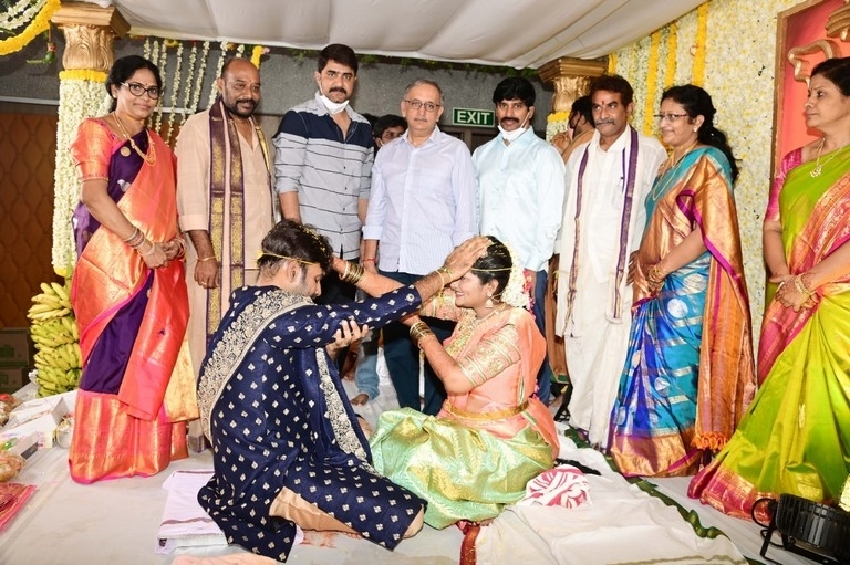 Producer Vallurupalli Ramesh Son Wedding Photos - 5 / 7 photos