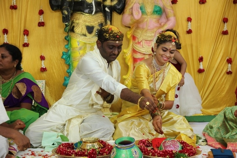 Writer Prasanna Kumar Bezawada Wedding Photos - 1 / 12 photos