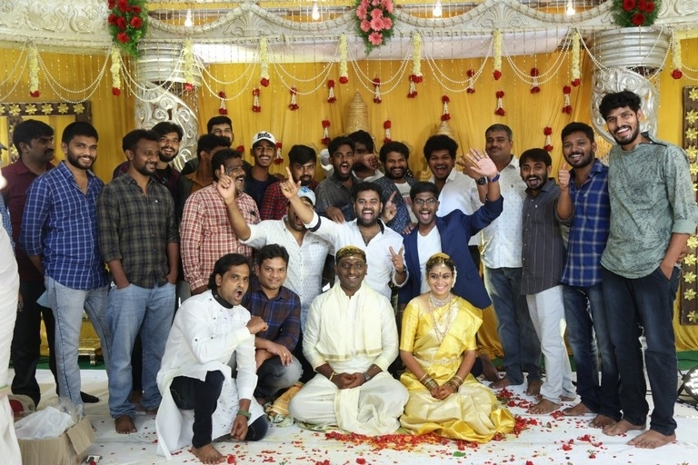 Writer Prasanna Kumar Bezawada Wedding Photos - 10 / 12 photos