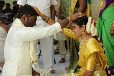 Writer Prasanna Kumar Bezawada Wedding Photos - 3 of 4