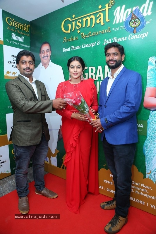 Poorna Inaugurated Gismat Arabic Mandi Restaurant - 12 / 13 photos