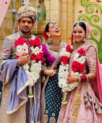 Kangana Brother Aksht Wedding Photos - 1 of 6