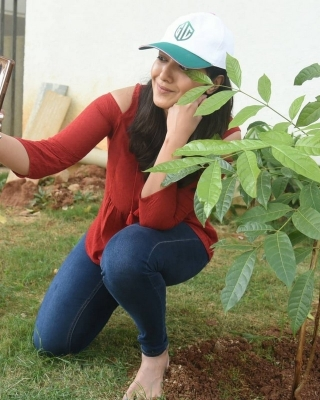Catherine Tresa accepted Green India Challenge - 1 of 4