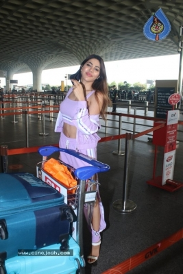 Nikki Tamboli Spotted At Airport - 14 of 17