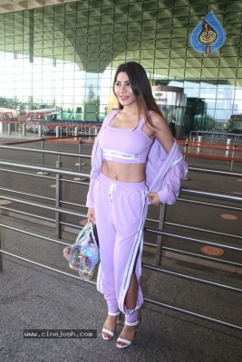 Nikki Tamboli Spotted At Airport - 15 of 17