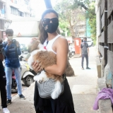 Daisy Shah Spotted At Pet Clinic