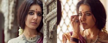 Raashi Khanna Traditional Look