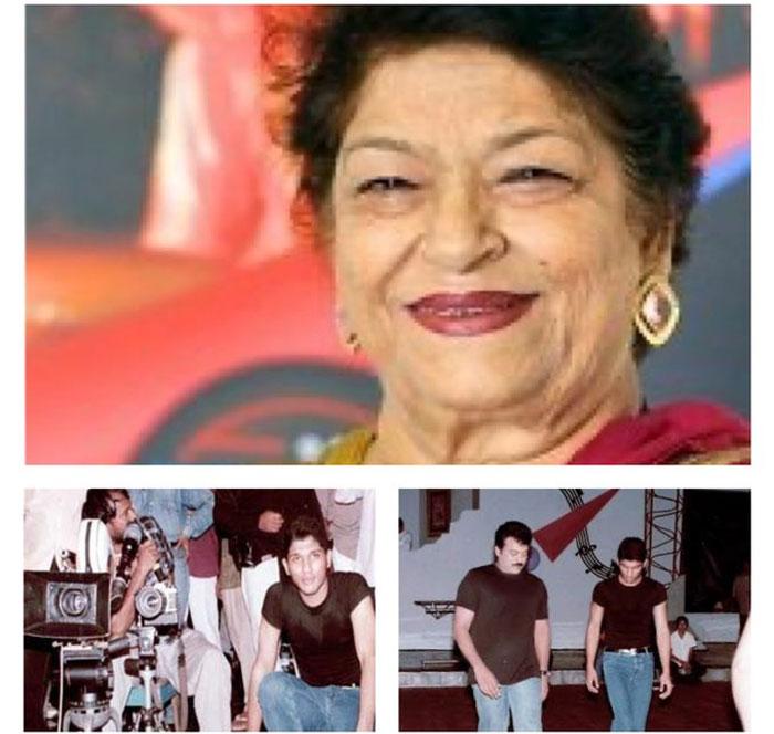 allu arjun,tweet,saroj khan,demise,first choreographer  ఆమె లేదంటే చాలా బాధేస్తోంది: అల్లు అర్జున్!