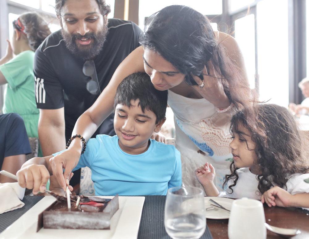 allu arjun,son,allu ayaan,allu ayaan birthday celebrations,allu ayaan birthday,sneha  పిక్ టాక్: అల్లు అయాన్ బర్త్ డే