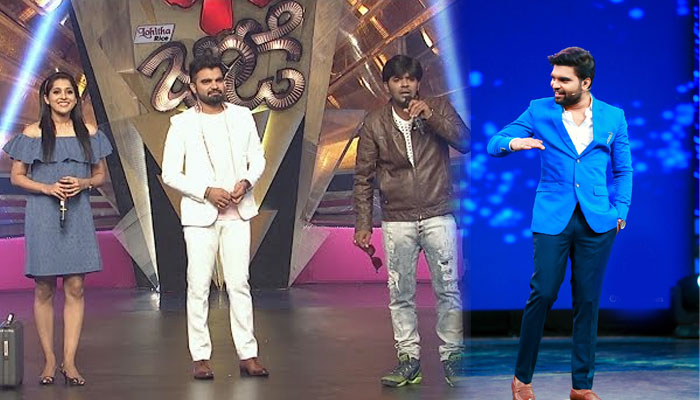 anchor pradeep,dhee champions,reasons,sudigali sudheer,reshmi  హీరోగా ఫీలైన ప్రదీప్.. షాకిచ్చిన 'మల్లెమాల'!