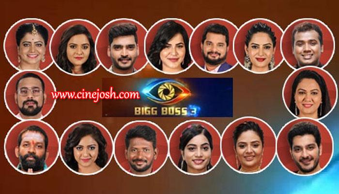 Bigg Boss Telugu Season 3: 15 Contestants List